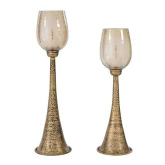 Badal Set of 2 Candle Holders