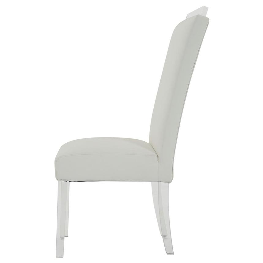 Jass White Side Chair  alternate image, 3 of 8 images.