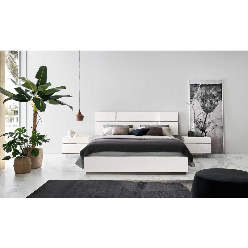 Siena King Platform Bed Made in Italy  alternate image, 2 of 7 images.