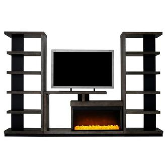 Brielle Wall Unit w/Bookcases