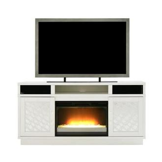 Joyce Faux Fireplace w/Speakers