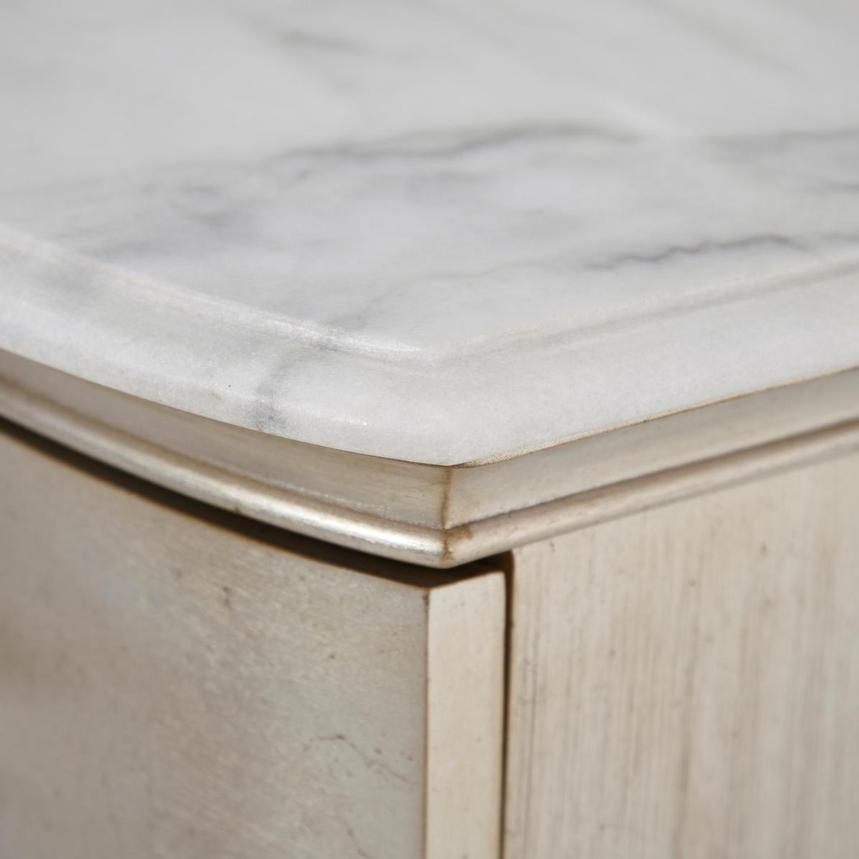 Starlite Marble Top Chest  alternate image, 8 of 13 images.
