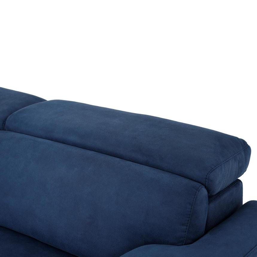Karly Blue Power Reclining Sofa  alternate image, 7 of 11 images.