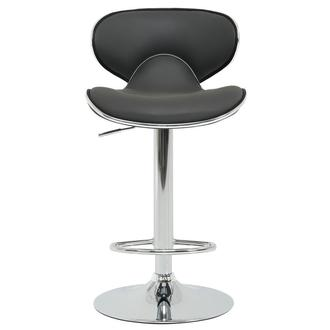 Clipper Gray Adjustable Stool