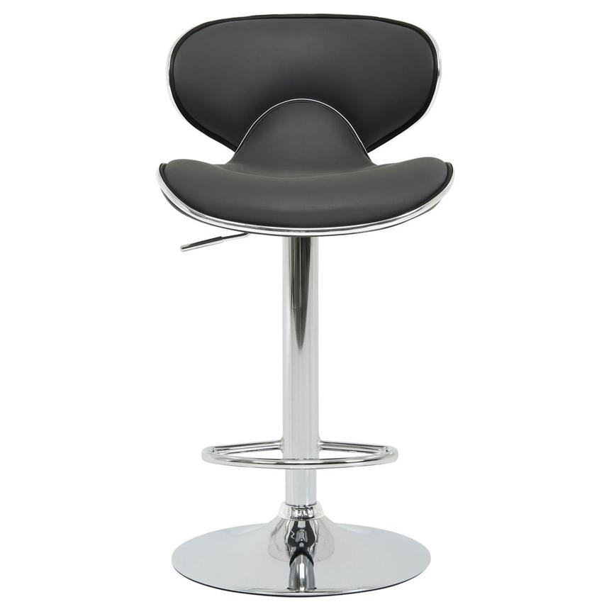 Clipper Gray Adjustable Stool  alternate image, 2 of 8 images.