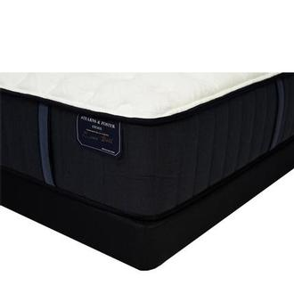 Hurston-TT King Mattress w/Low Foundation by Stearns & Foster