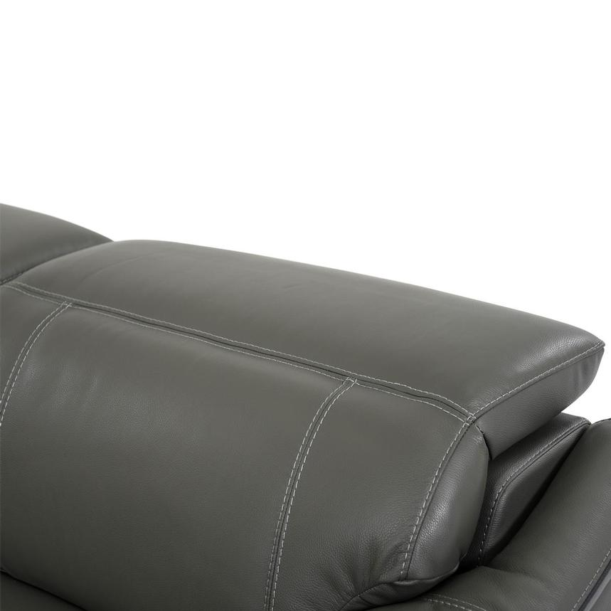 Austin Dark Gray Home Theater Leather Seating  alternate image, 7 of 11 images.