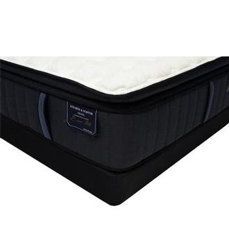 Hurston-EPT Queen Mattress w/Low Foundation by Stearns & Foster
