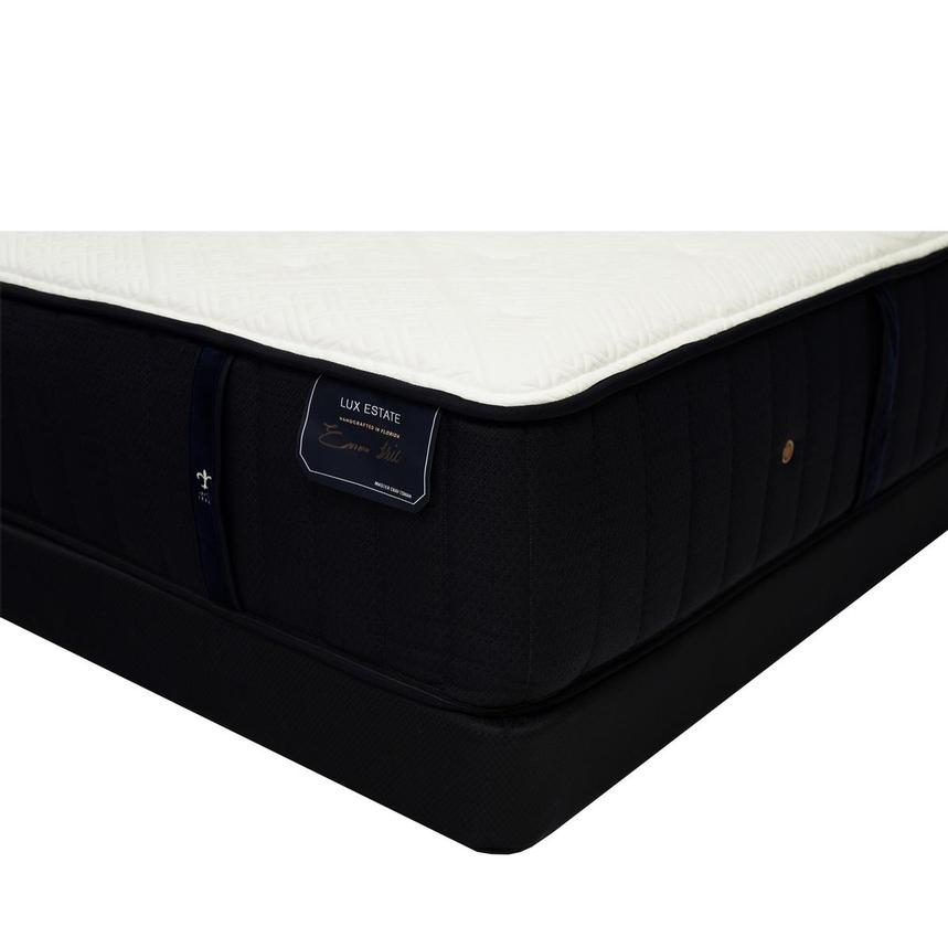 Cassatt-TT Queen Mattress w/Regular Foundation by Stearns & Foster  main image, 1 of 5 images.