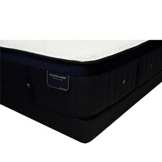 Pollock-TT Twin XL Mattress w/Low Foundation by Stearns & Foster