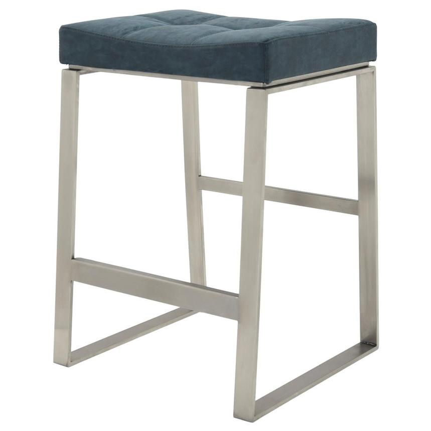 Sabriel Blue Counter Stool  alternate image, 2 of 6 images.