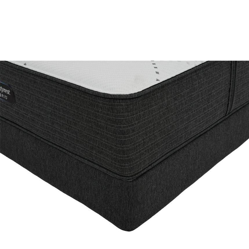 BRX 1000-Firm King Mattress w/Regular Foundation by Simmons Beautyrest Hybrid  main image, 1 of 6 images.