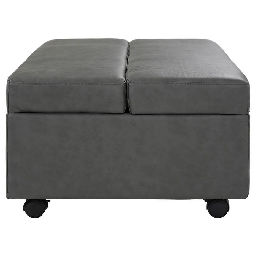 Pressley II Gray Twin Ottoman Bed w/Casters  alternate image, 4 of 9 images.