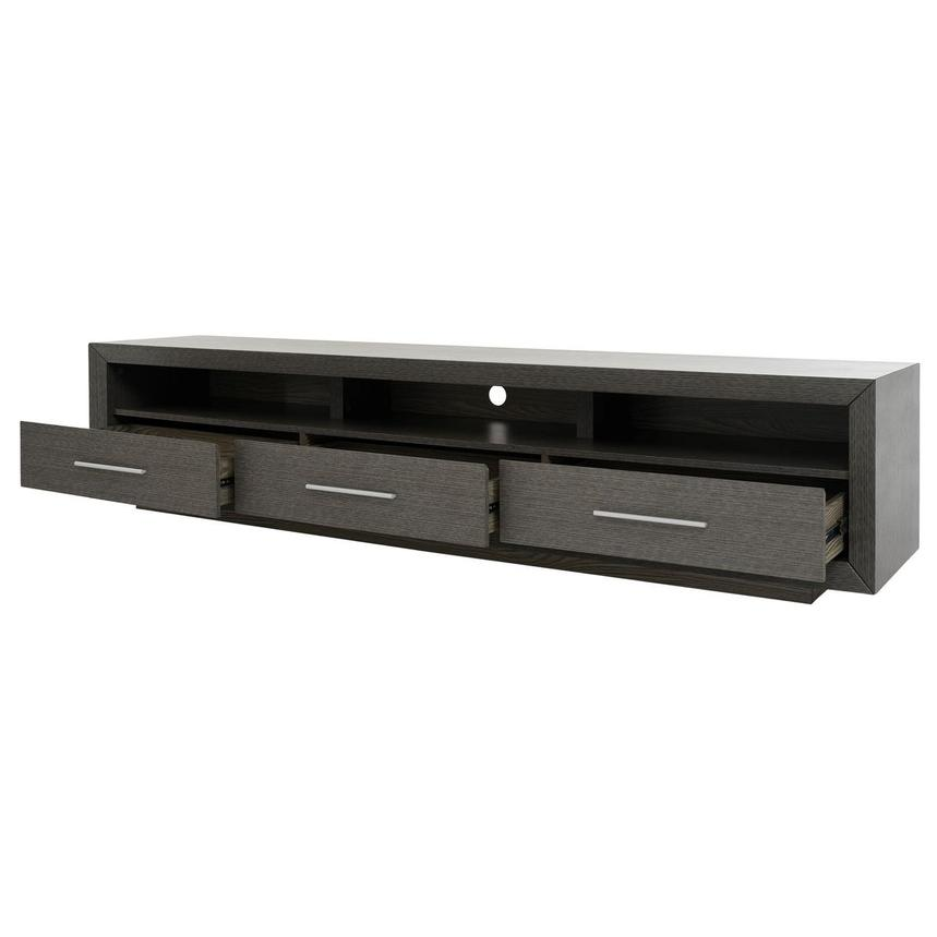 Contour I Gray TV Stand  alternate image, 3 of 8 images.