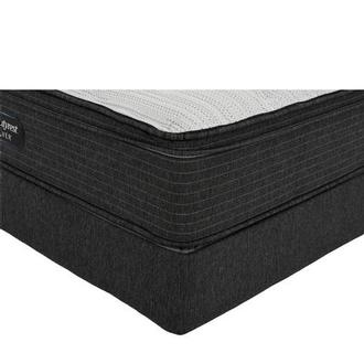 BRS900-ET-MS Twin Mattress w/Regular Foundation by Simmons Beautyrest Silver