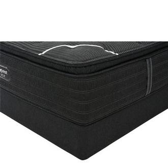 BRB-C-Class PT Twin XL Mattress w/Low Foundation by Simmons Beautyrest Black