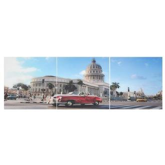 Havana Set of 3 Acrylic Wall Art