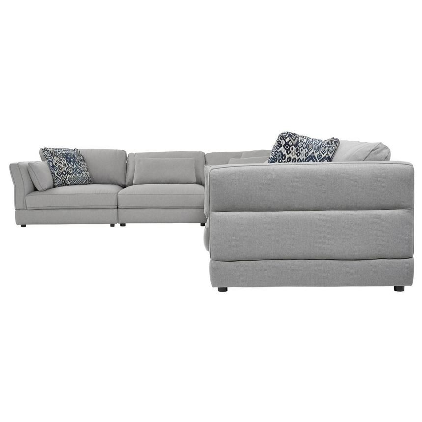 Skyward Sectional Sofa w/Ottoman  alternate image, 2 of 5 images.