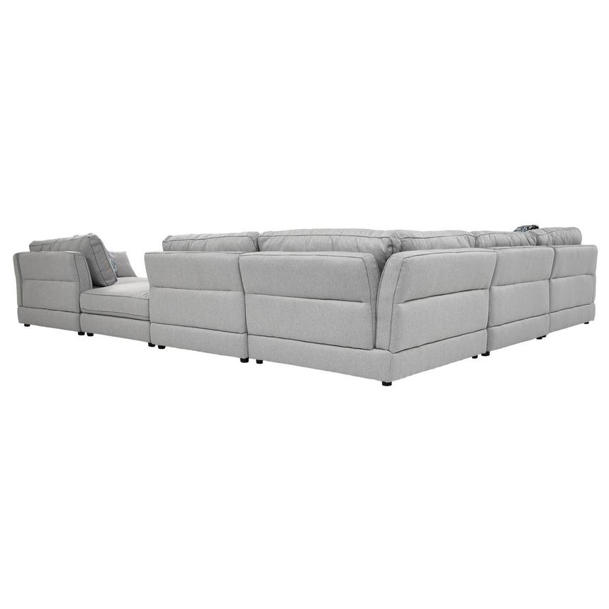 Skyward Sectional Sofa w/Ottoman  alternate image, 4 of 7 images.