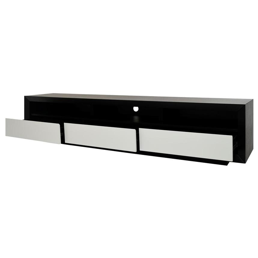 Contour II Black TV Stand  alternate image, 3 of 7 images.
