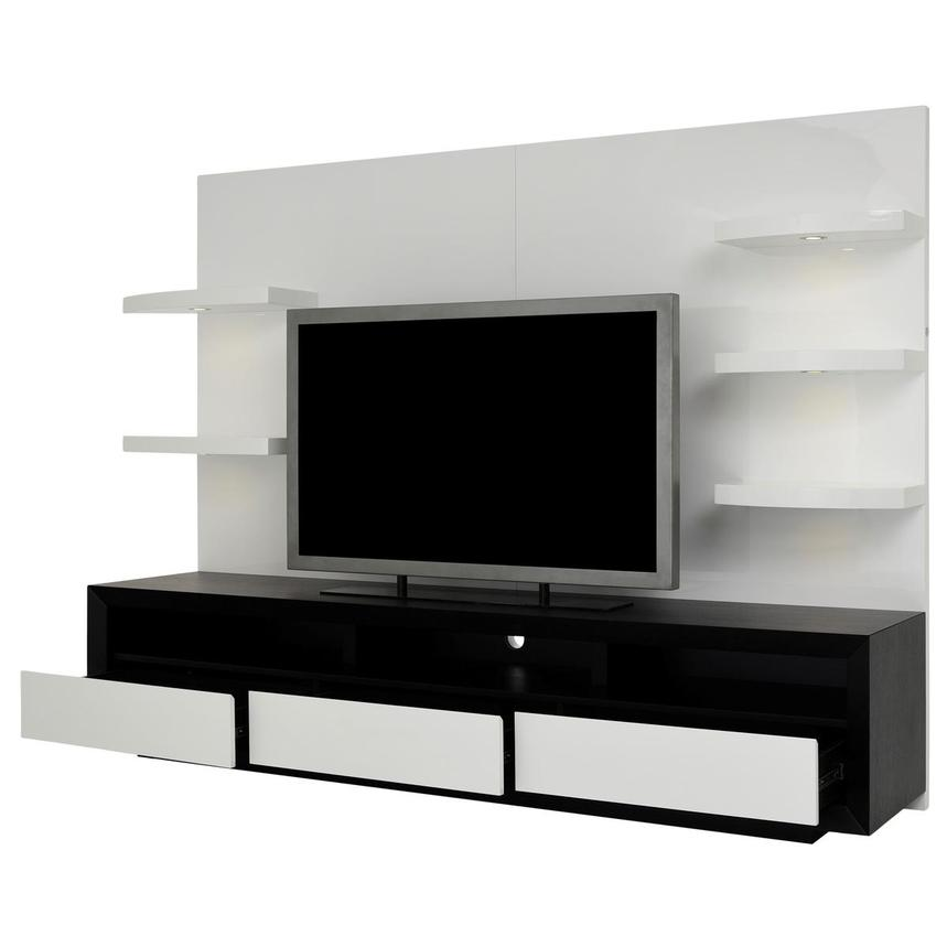 Contour II Black/White Wall Unit  alternate image, 3 of 9 images.