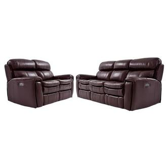 Napa Burgundy Living Room Set