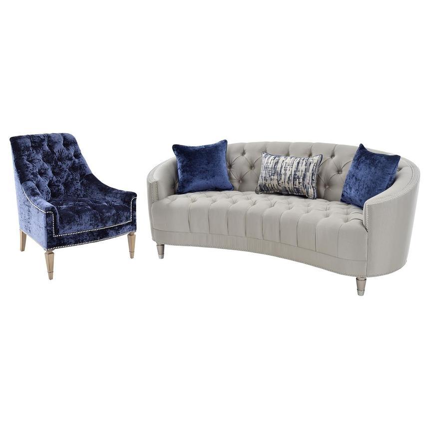 Kimberly Silver Living Room Set El, El Dorado Furniture Hialeah