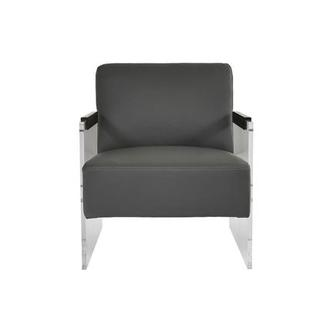 Lucid Gray Accent Chair