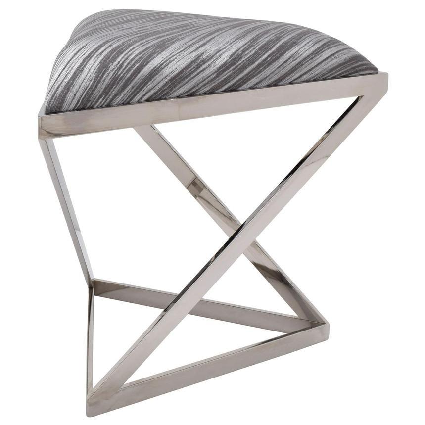 Ferro Gray Bench El Dorado Furniture