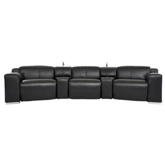 Jeremy Home Theater Leather Seating