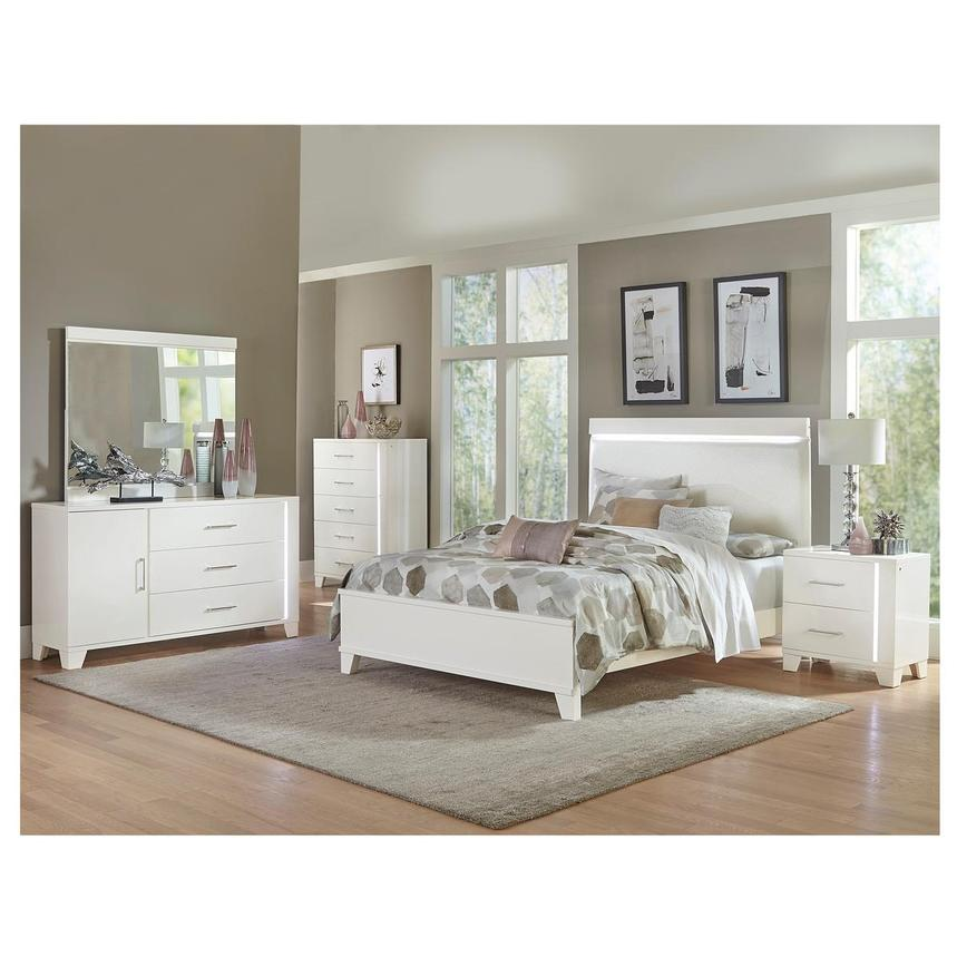 Whitney 4 Piece Full Bedroom Set El, El Dorado Furniture Bedroom Set