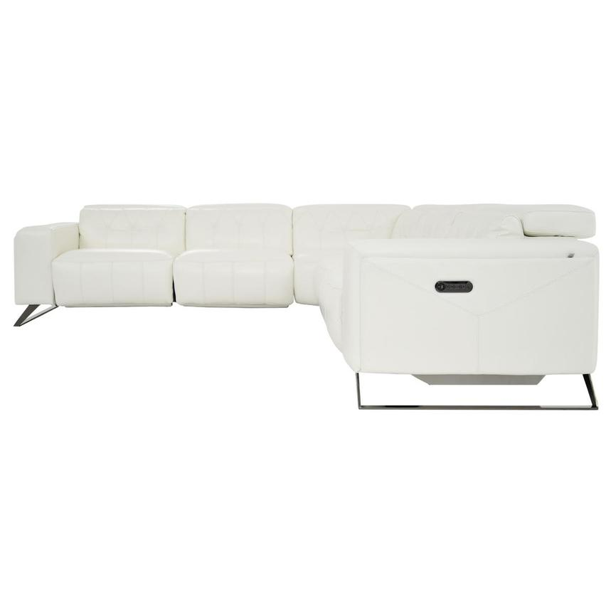 Anchi Leather Power Reclining Sectional  alternate image, 4 of 10 images.
