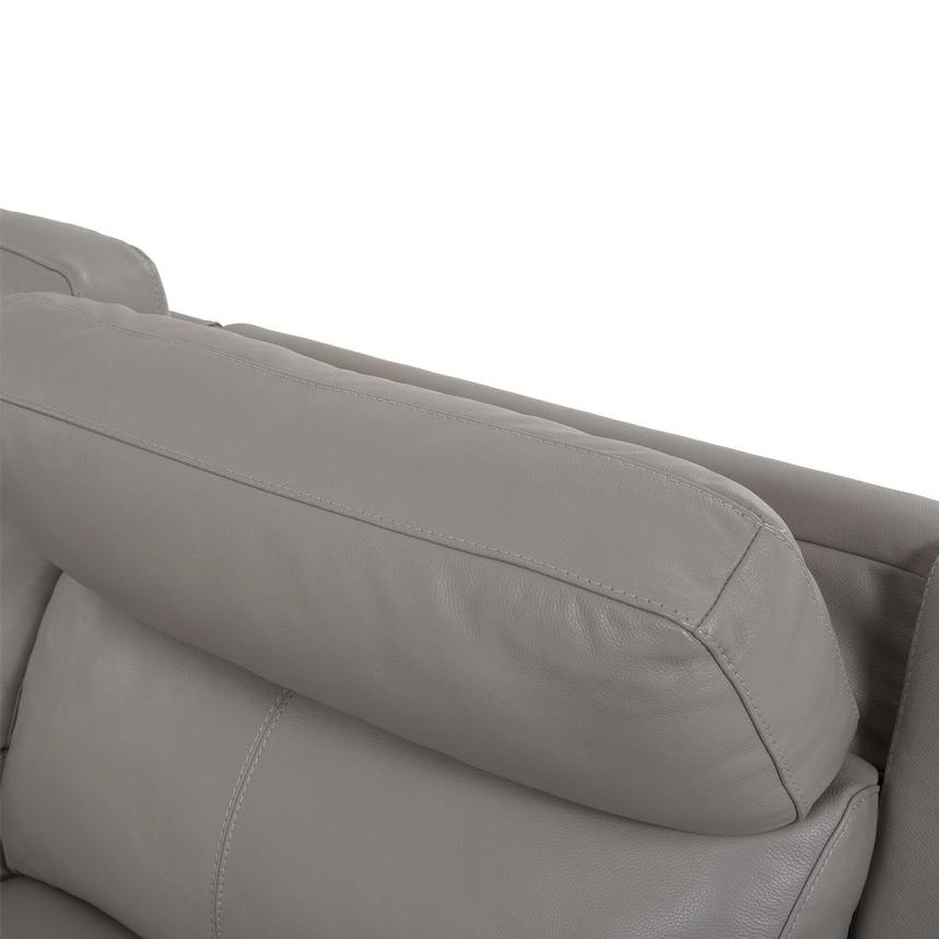 Barry Gray Leather Power Reclining Sectional  alternate image, 7 of 14 images.