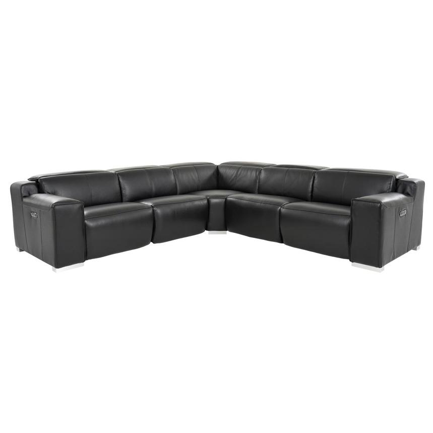 Miraculous Jeremy Leather Power Reclining Sectional Ibusinesslaw Wood Chair Design Ideas Ibusinesslaworg