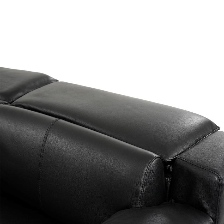Jeremy Leather Power Reclining Sectional  alternate image, 7 of 12 images.