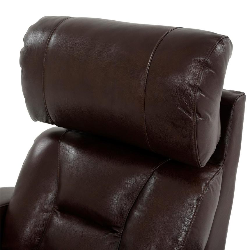 Gio Brown Leather Power Recliner  alternate image, 7 of 13 images.