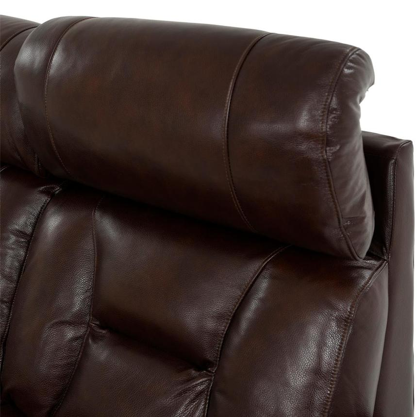 Gio Brown Leather Power Reclining Sofa  alternate image, 7 of 18 images.