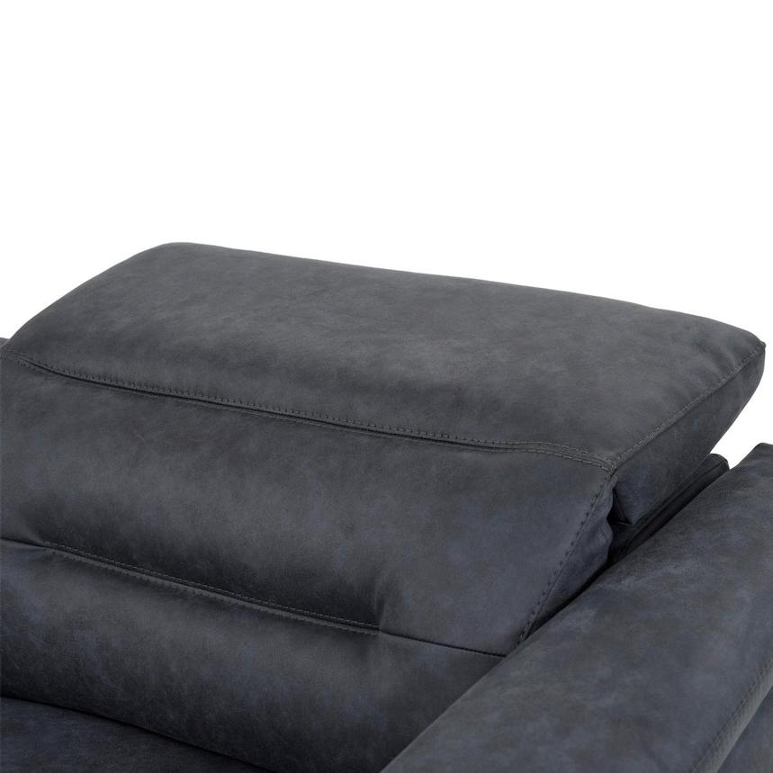 Claribel II Blue Power Reclining Sectional  alternate image, 6 of 11 images.