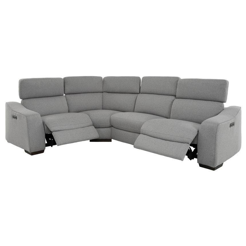 Remarkable Jameson Light Gray Power Motion Sofa W Right Left Recliners Inzonedesignstudio Interior Chair Design Inzonedesignstudiocom