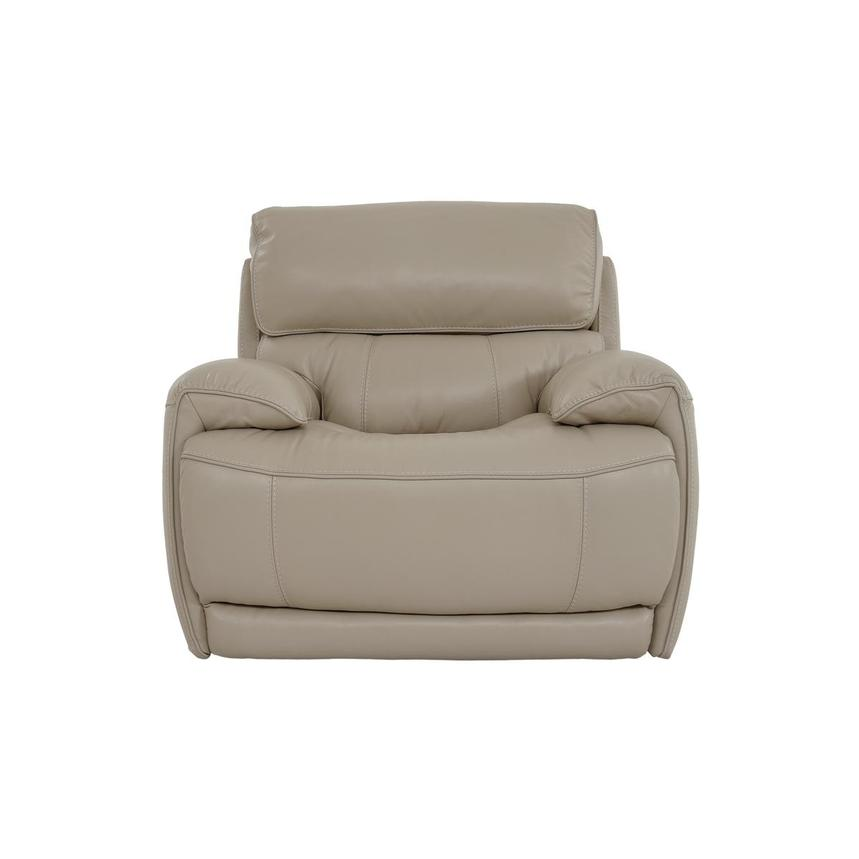 Cody Cream Leather Power Recliner  main image, 1 of 11 images.