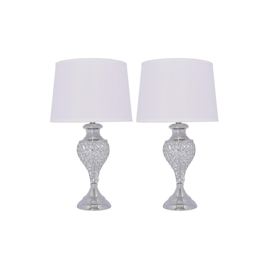 Glitzy Set of 2 Table Lamps  main image, 1 of 5 images.