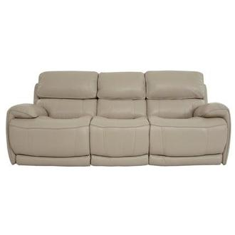 Cody Cream Leather Power Reclining Sofa