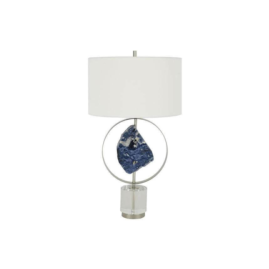 El Dorado Blue Card >> Blue Stone Table Lamp