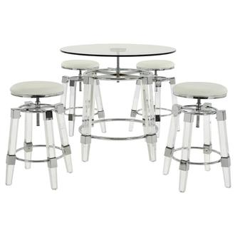 Julie White 5-Piece Counter Dining Set