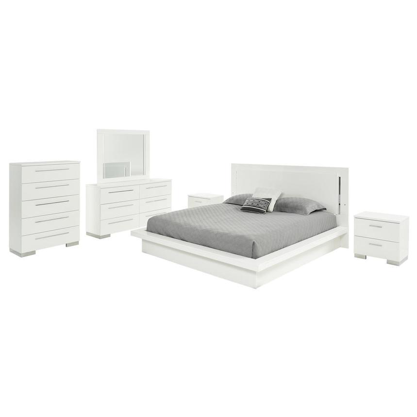 Moonstone 6-Piece King Bedroom Set | El Dorado Furniture
