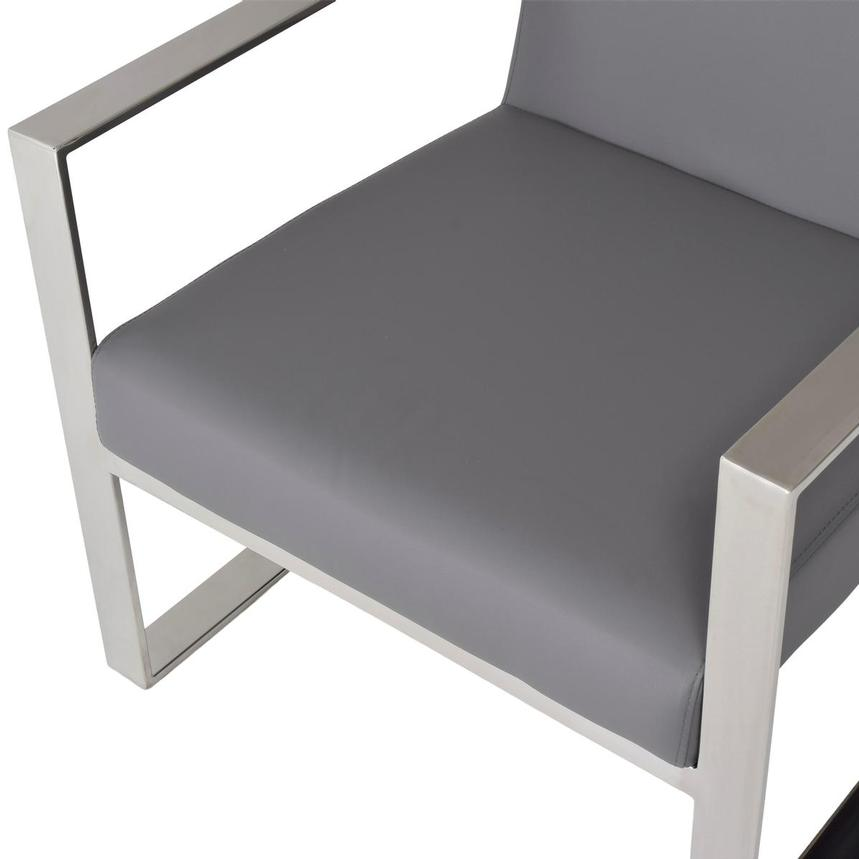 Ace Gray Accent Chair  alternate image, 7 of 8 images.