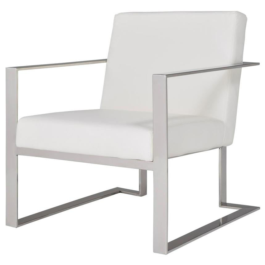 Ace White Accent Chair  alternate image, 2 of 8 images.