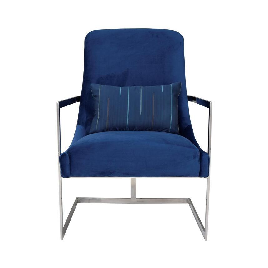 Enjoyable Dimitra Blue Accent Chair Machost Co Dining Chair Design Ideas Machostcouk