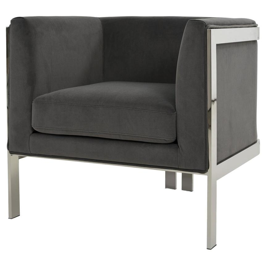 Silber Gray Accent Chair  alternate image, 2 of 6 images.