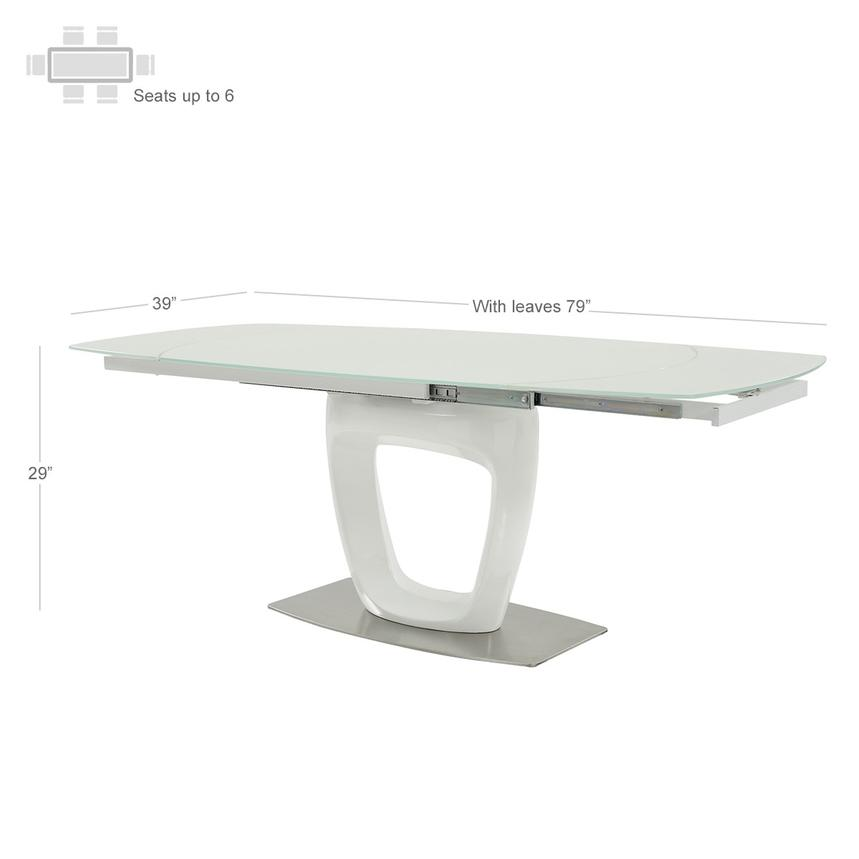 Giuli Extendable Dining Table  alternate image, 3 of 7 images.